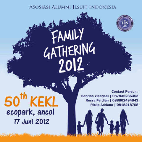 Family Gathering 2012 Kekl Jakarta Wisata Bareng Alumni Jesuit Di