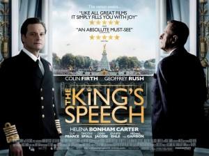 kings speech movie poster