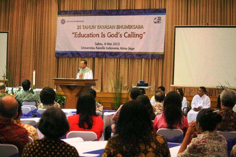 Misa 25 Tahun Yayasan Bhumiksara