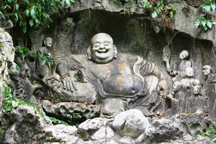 IMG_7192 Lingyin Temple of Hongzhou Sang Buddha ketawa