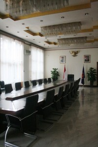 Kedubes RI Beijing ruang rapat utama