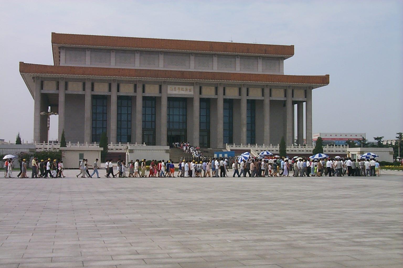 Mausoleum Ketua Mao by Ist
