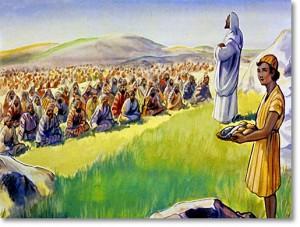 Yesus memberi makan
