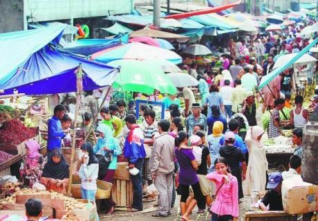 Pasar tradisional Ist