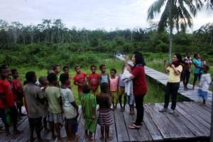 Anak-anak Sagare Agats