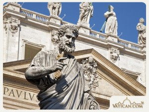 Kunci kerajaan surga di tangan Petrus by Vatican com