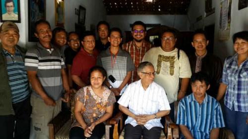 Mahendra Christy kunjungan pastoral keluarga pastor 2