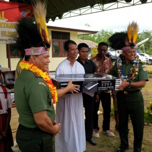 KSAD Jenderal Gatot Nurmanto ke Paroki Bupul pedalaman Kabupaten Merauke Papua