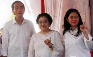 jokowi dan megawati dan puan by tribun news