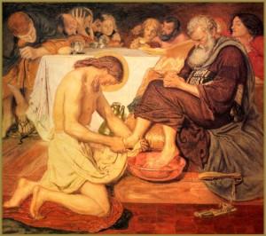 membasuh kaki by the catholic wife