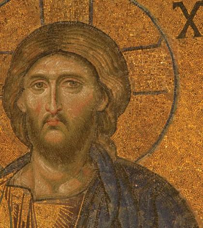 Mosaik Yesus di Hagia Sophia
