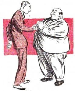 manusia kurus dan gemuk salaman by madame euliaie