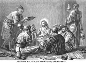 yesus dan para pendosa by Alexander Bida