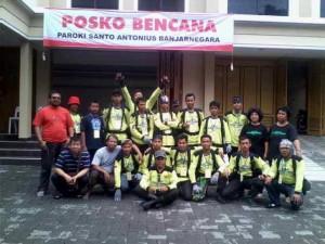 Posko Paroki Banjarnegara 12