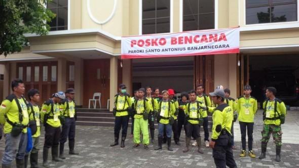 Posko Paroki Banjarnegara 2