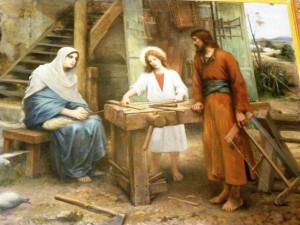 santo yusuf dan maria