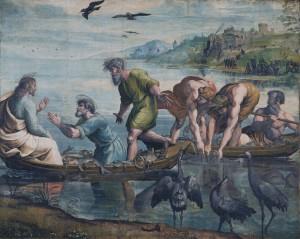 yesus dan murid menangkap ikan by Petri_Fischzug_Raffael