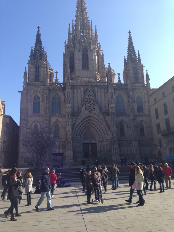 Barcelona katedral