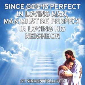 God Loves Us St Vincent Palotti Sesawi