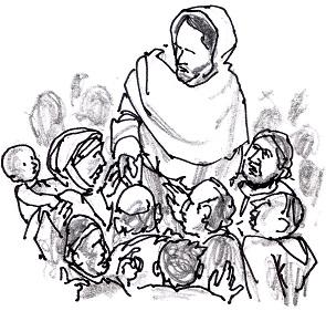 Jesus in crowd_0