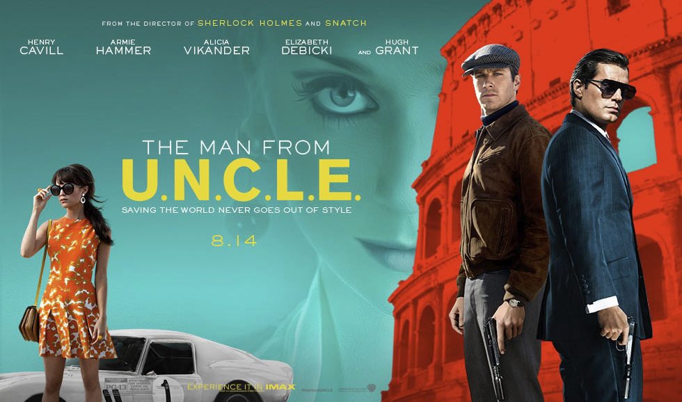 Poster Film The Man From UNCLE