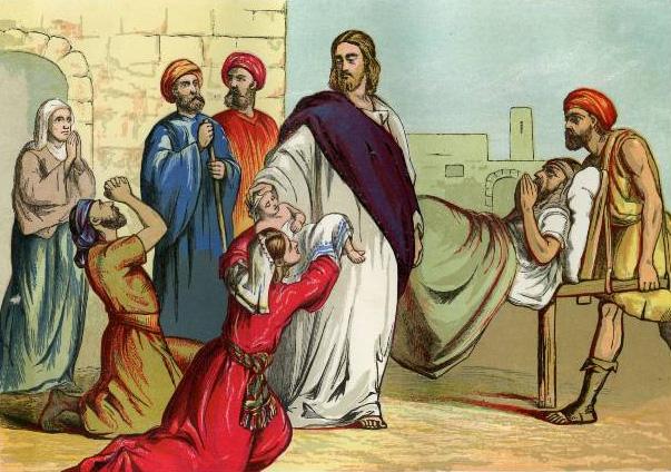 gospel of matthew and jesus heals The gospel of matthew tells the story of jesus the messiah whose signal genealogy and jesus heals a leper, a centurion throughout matthew's gospel, jesus is a.