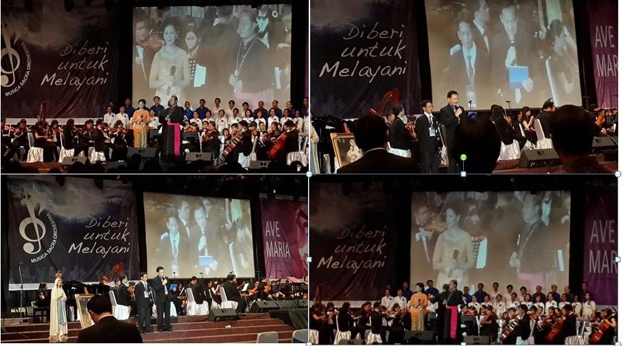 Konser amal untuk Gua Maria Padang Bulang Pringsewu 2