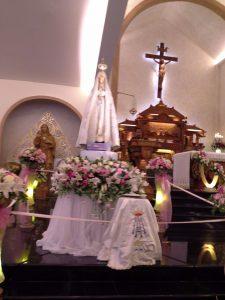 Bunda Maria Fatima di Paroki St. Marinus Kenjeran, Surabaya (Siani)