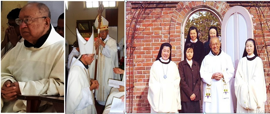 Alm. Romo Frans Harjawijata OCSO (1931-2016), Abbas pertama Indonesia untuk Ordo Trappist di Pertapaan St. Maria Rawaseneng, Kab. Temanggung, Jawa Tengah. (Dok. Romo Budi Purnomo Pr/Ist)