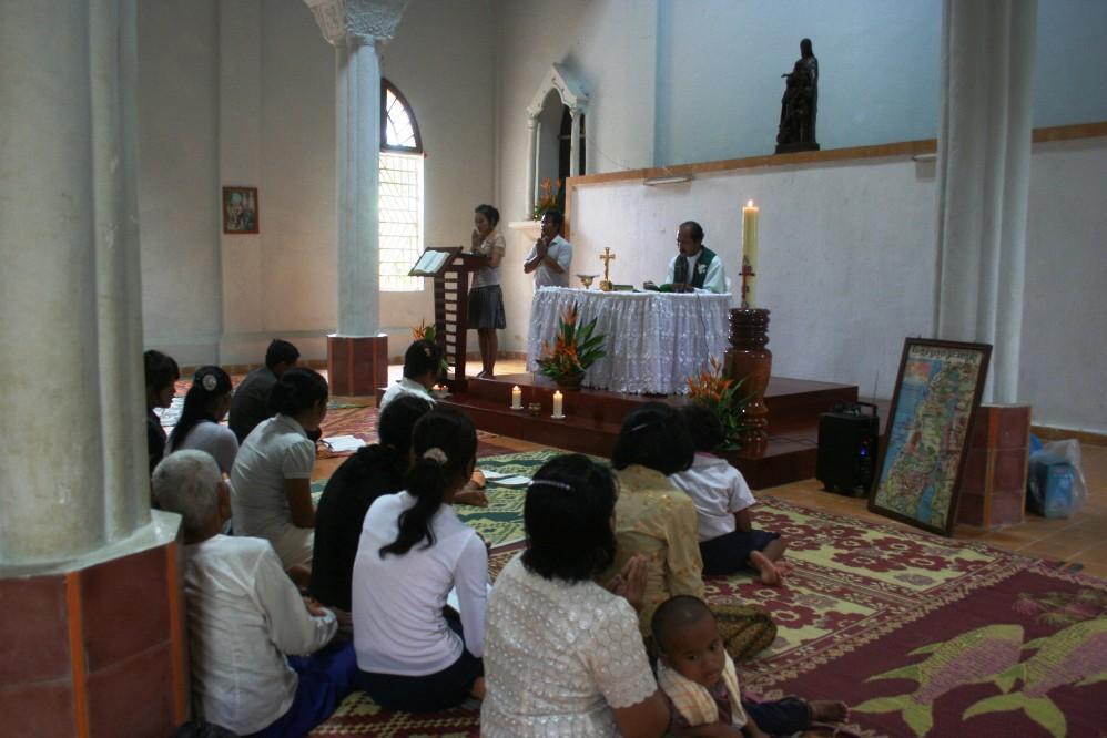 Misa di Stasi Taom di Siem Reap Kamboja