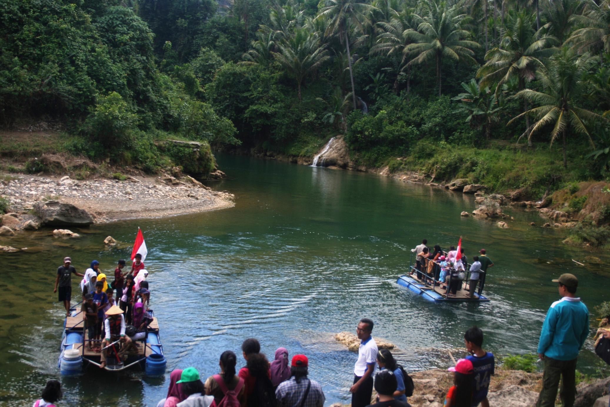 Wisata Alam Gunung Kidul Diy Air Terjun Srigethuk Di