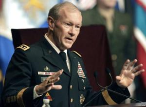 Pimpinan Gabungan Kepala Staff Angkatan Bersenjata Amerika, Jendral Martin Dempsey (VOA)