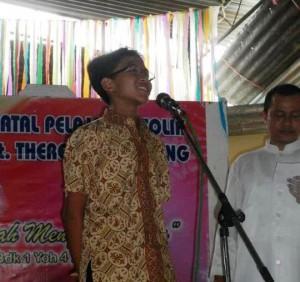 Pesta Natal Paroki Majenang tanya jawab dengan Romo M Ngarlan Pr