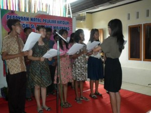tampilan koor