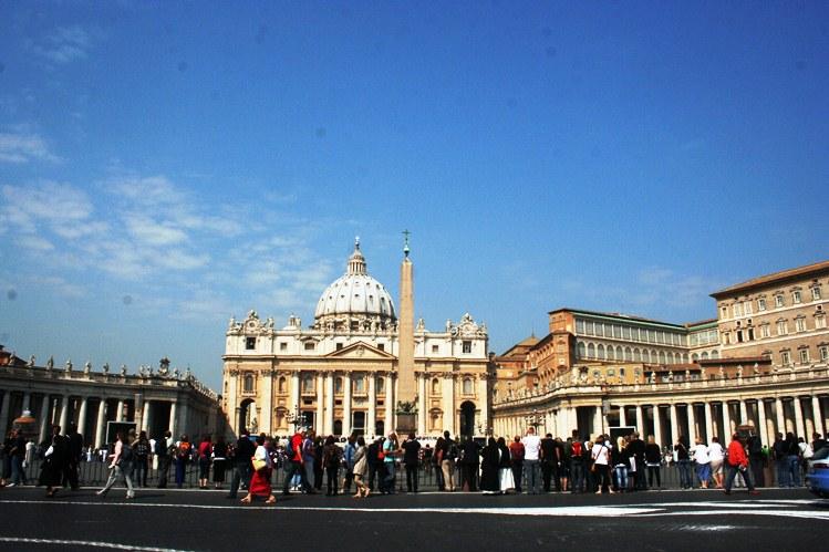 Roma Vatikan Lapangan Santo Petrus
