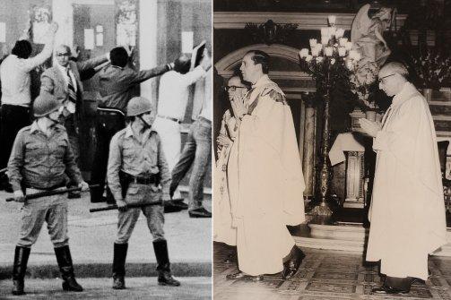 Bergoglio tahbisan dan junta militer