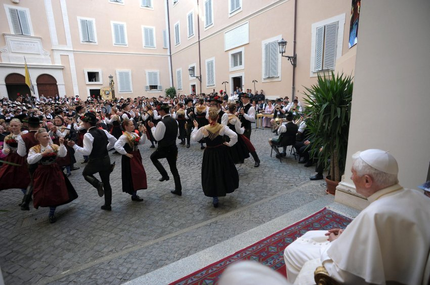 Bavarian Party for Pope