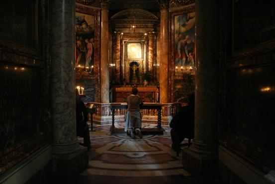 Gereja Del Gesu doa