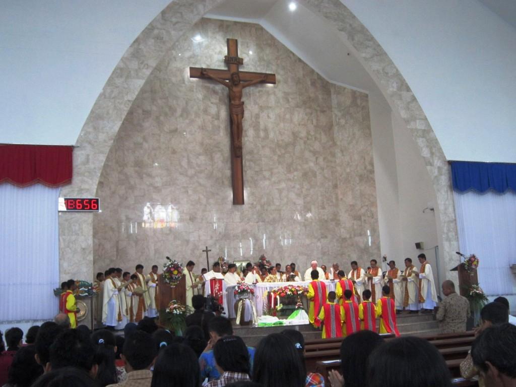 Katedral Palangkaraya 1