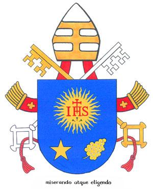 Lambang kepausan Paus 2