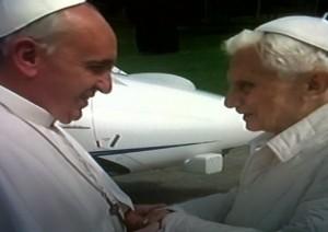 Paus Fransikus kunjungi Kardinal Ratzinger