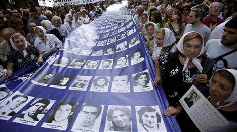 argentina dan korban junta militer