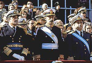 argentina junta militer lengkap