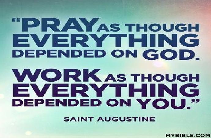 berdoa cara santo agustinus