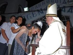 paus fransiskus saat masih kardinal