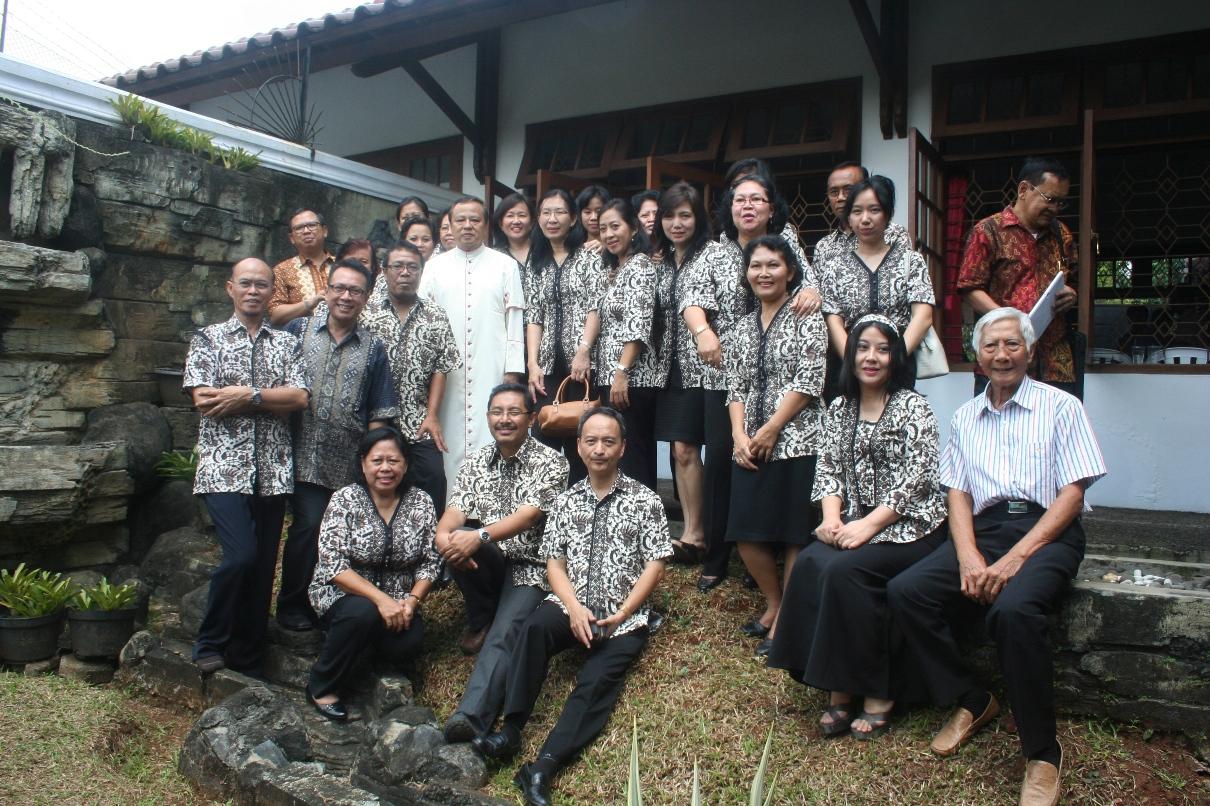 Misa Palingsah 2013 kelompok koord dengan Bapak Uskup Mgr Suharyo