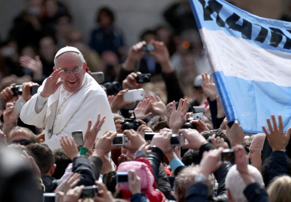 Pope Francis Attends Easter Mass and Urbi Et Orbi Blessing in St. Peter's Square