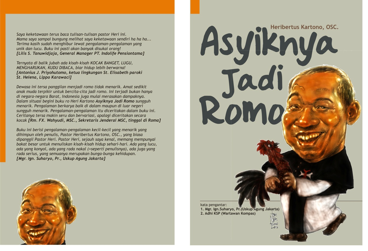 ASYIKNYA JADI ROMO buku Romo Heri Kartono OSC