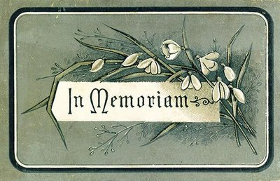 In memoriam 1