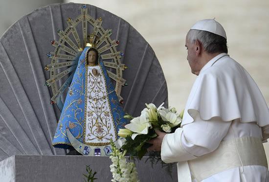 Lujan Argentina dan Paus Fransiskus